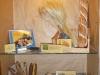 des objets de l'exposition sous vitrine - Dreux (28) 2011