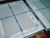 les bacs de fabrication du papier