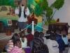 Animation de l'exposition par notre comédienne