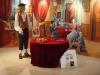 Le salon du 18e siècle- détail fresque