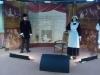 Un des espaces scéniques de l'expo