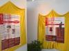 Des panneaux de l'expo