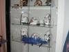 objets sous vitrine