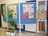 Des panneaux de l'exposition