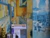 une fresque de l'exposition