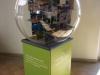 Une sphère de l'exposition