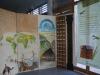 une  fresque de l'expo